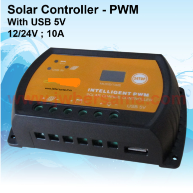 Solar Charge Controller Intelligent PWM 10A with USB output intelligent controller sw 10a